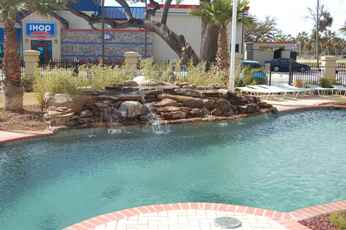 Poolside at Beau View vacation rental condos in Biloxi