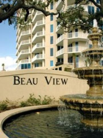 Beau View vacation condo rentals on Biloxi beach
