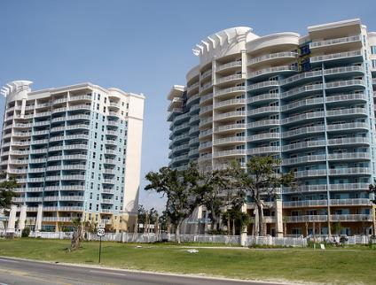 Legacy Towers vacation condo rentals overlooking Biloxi beach