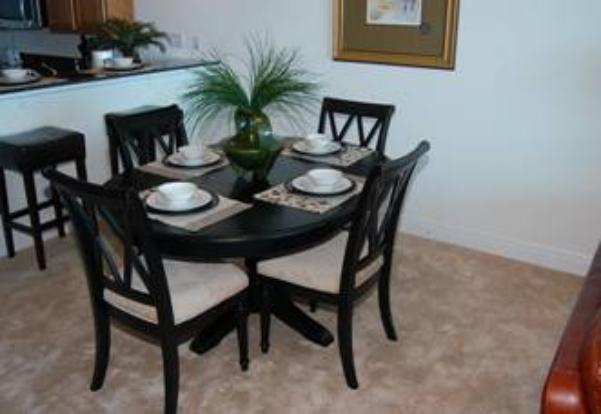 Dining area - seating for 7 - Beau View condo rental Biloxi