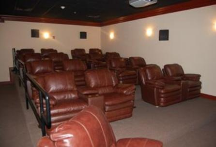 Beau View condo vacation rental on-site movie theatre