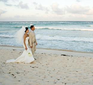 Biloxi beach hosts many beach weddings throughout the year